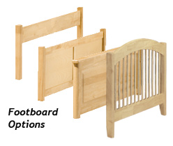 Footboard Options
