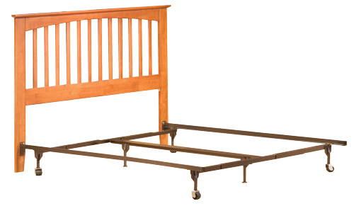 sample headboard only setup - Bed Frame For Headboard And Footboard