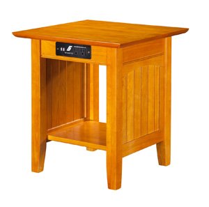 Nantucket Occasional Tables with Charging Station