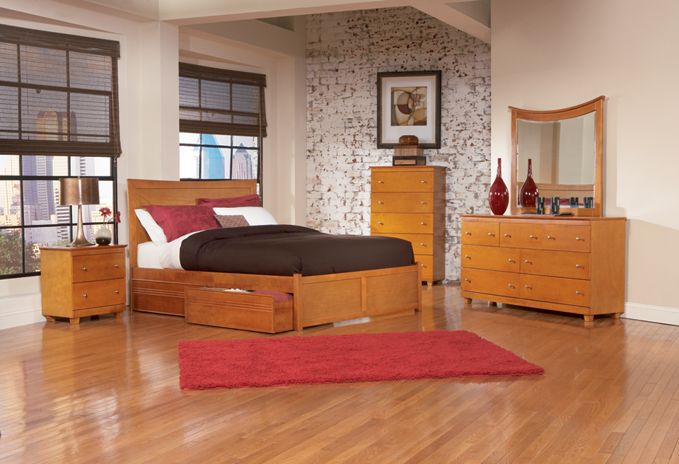 Woodworking Plan: how to build a platform bed with storage