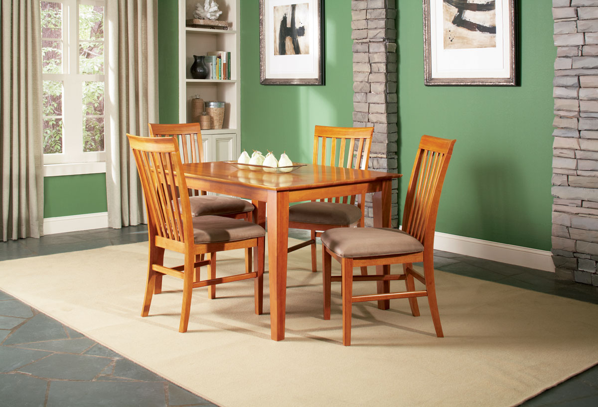 atlantic furniture inc dining shaker tables